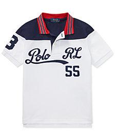 Polo Ralph Lauren Toddler Boys Cotton Mesh Polo Shirt