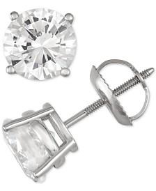 Diamond Stud Earrings (2 ct. t.w.) in 14k White Gold