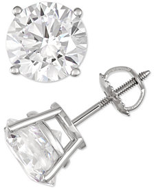 Diamond Stud Earrings (7 ct. t.w.) in 14k White Gold