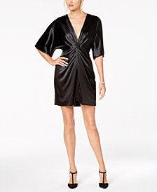 Laundry by Shelli Segal Twist-Front Dress