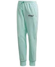 adidas Men's Kaval Fleece Logo Joggers