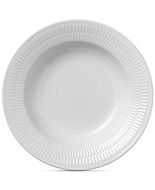 Royal Copenhagen White Fluted Rim Soup Bowl