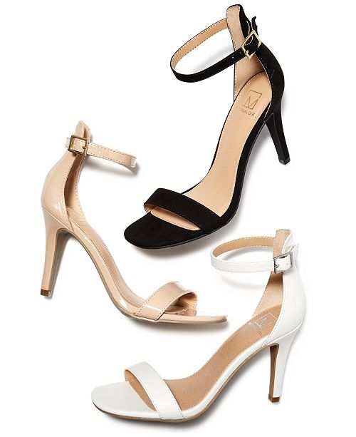1973a613279 ... Material Girl Blaire Two-Piece Dress Sandals