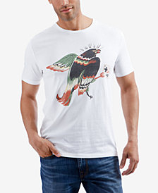 Lucky Brand Men's Hawk On Cross Graphic T-Shirt