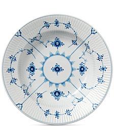 Royal Copenhagen Blue Fluted Plain Rim Soup Bowl