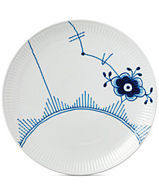 Royal Copenhagen Blue Fluted Mega Coupe Dinner Plate