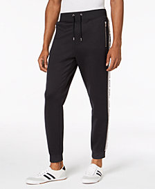 I.N.C. Men's Taped Knit Track Pants, Created for Macy's