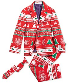 OppoSuits Boys Winter Wonderland Christmas Suit