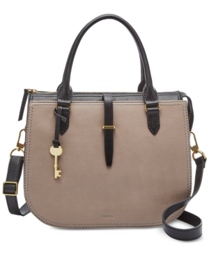 Fossil RYDER LEATHER MEDIUM SATCHEL