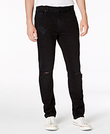 American Rag Men's Shadow Slim-Fit Stretch Destroyed Jeans, Created for Macy's