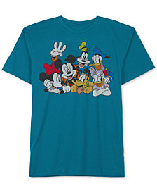 Big Boys Mickey & Friends Graphic-Print T-Shirt