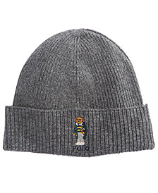Polo Ralph Lauren Men's College Bear Beanie