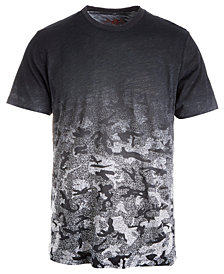 American Rag Men's Ombré Camouflage T-Shirt, Created for Macy's