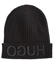 Hugo Boss Men's Wool Logo Hat