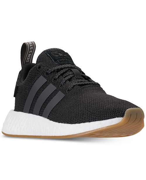 buy online 7c306 4a7d9 ... adidas Boys  NMD R2 Casual Sneakers from Finish ...