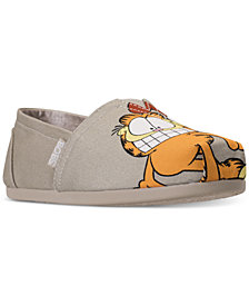 Skechers Women's Bobs Plush - Garfield #Bestie Bobs for Dogs Casual Slip-On Flats from Finish Line