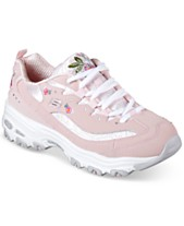 1a37e610cbb Skechers Women s D-Lites - Bright Blossoms Walking Sneakers from Finish Line