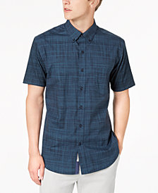 ConStruct Men's Plaid Shirt, Created for Macy's