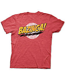Men's Bazinga Graphic T-Shirt