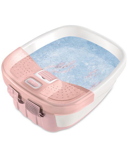 Homedics FB-50 Foot Bath, Bubble Bliss