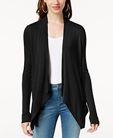 INC Petite Open-Front Cardigan, Created for Macy's