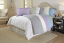 Printed Duvet Sets, 300 Thread Count Cotton Sateen