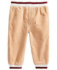 First Impressions Baby Boys Ribbed Corduroy Jogger Pants, Created for Macy's