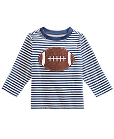 First Impressions Toddler Boys Football-Print Cotton T-Shirt, Created for Macy's