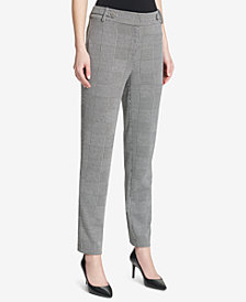 Calvin Klein Tapered-Leg Pants