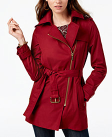 MICHAEL Michael Kors Belted Trench Coat, In Regular & Petite Sizes