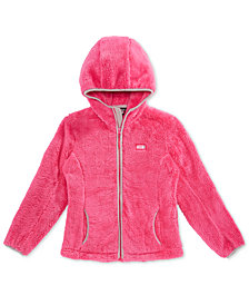 32 Degrees Big Girls Faux-Shearling Hooded Jacket