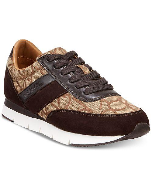 bfa8330fb649 Calvin Klein Women s Tea Logo Sneakers   Reviews - Athletic Shoes ...