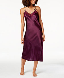Thalia Sodi Lace-Trimmed Nightgown, Created for Macy's