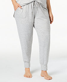 Alfani Plus Size Jogger Pajama Pants, Created for Macy's