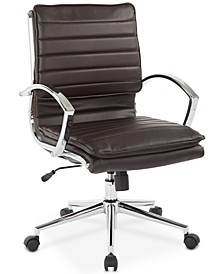Pyppa Faux-Leather Chair, Quick Ship