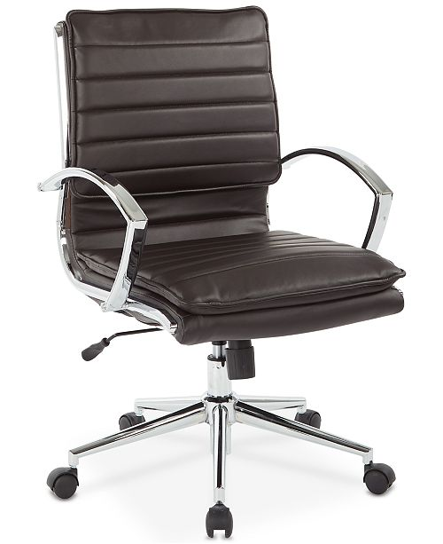 Office Star Pyppa Faux-Leather Chair