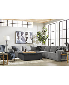 Amboise Fabric Sectional Collection, Created for Macy's