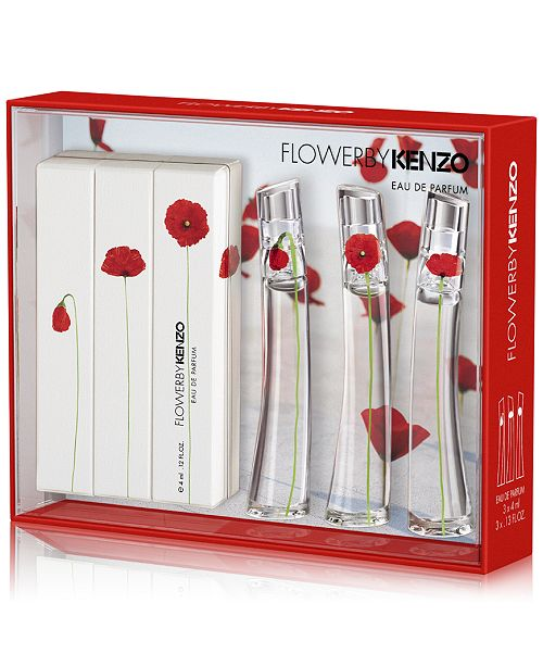 1e6f3852 Kenzo 3-Pc. Flower By Kenzo Miniature Fragrance Gift Set & Reviews ...