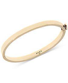 DKNY Gold-Tone Bangle Bracelet