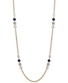 "DKNY Stone 42"" Strand Necklace"