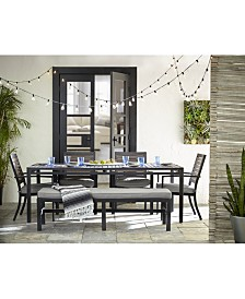 Marlough II Outdoor Dining Collection, with Sunbrella® Cushions, Created for Macy's