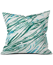 Deny Designs Pattern State  Wave Throw Pillow