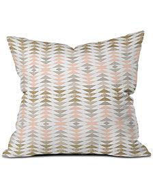 Deny Designs Georgiana Paraschiv lic Triangles Throw Pillow