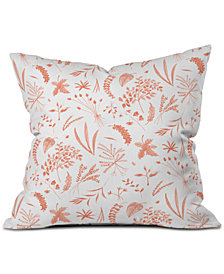 Deny Designs Kerrie Satava Wild Prarie Blush Throw Pillow