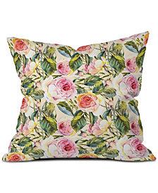 Deny Designs Marta Barragan Camarasa Flowery Meadow Throw Pillow