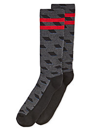 Perry Ellis Men's Casletic Printed Socks