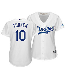 Majestic Women's Justin Turner Los Angeles Dodgers Cool Base Player Replica Jersey
