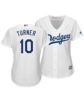 Majestic Women s Justin Turner Los Angeles Dodgers Cool Base Player Replica  Jersey 6b0838bae
