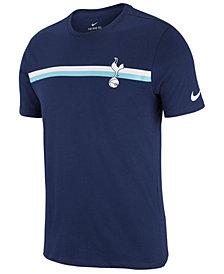 Nike Men's Tottenham Hotspur FC Team Stripe Crest T-Shirt