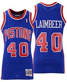 Men's Bill Laimbeer Detroit Pistons Hardwood Classic Swingman Jersey